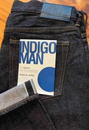 Japan Blue Jeans JB0606 14 Oz. High Tapered Selvedge Jeans