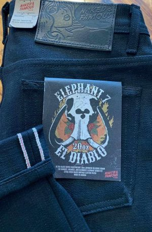 Naked & Famous Denim Elephant 7 Weird Guy 20 oz. Selvedge Jeans