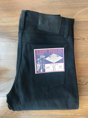 Left Field NYC Black Maria Chelsea Slim Tapered 15 oz. XinJiang Selvedge Jeans