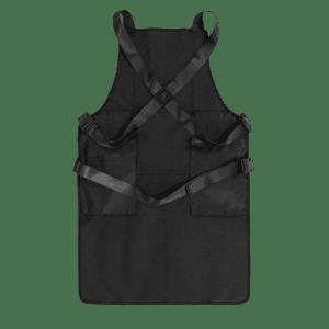 Knife and Flag Black Non-Porous Core Apron