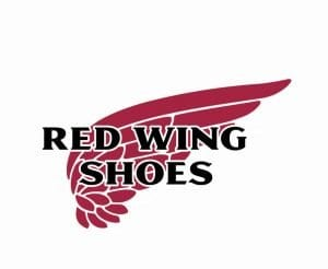 Red Wing Shoes logo.