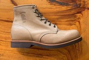 Chippewa 20067 Thompson Tan Rodeo Lace-up Boots