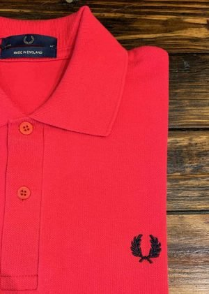 Fred Perry M3 Shirt England Red