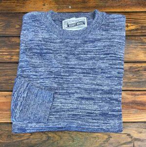 Schott NYC SW1913 Cotton Crew Neck Sweater
