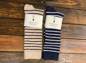 American Trench Breton Striped Socks