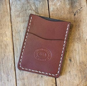English Bridle Minimalist Wallet