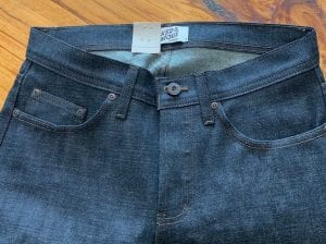 Naked & Famous Denim Weird Guy Green Core Selvedge Jeans