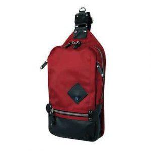 Harvest Label Ballistic Sling Pack in Red.