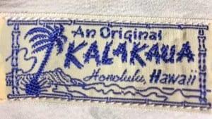 An Original Kalakaua logo.