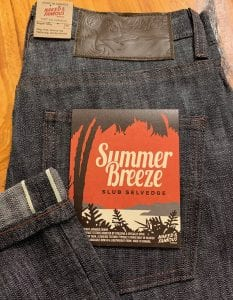 Naked and Famous Denim Super Guy Summer Breeze Selvedge