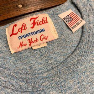 Left Field NYC Light Blue Chambray Pocket Tee