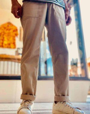 Stan Ray Tapered Fatigue Khaki Twill Pants