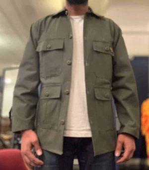 Stan Ray 4 Pocket Fatigue Jacket OD Ripstop