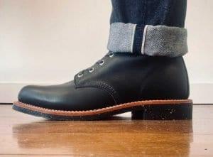 Chippewa Aldrich Black Odessa 1901M24 Lace-up Boots