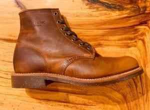Chippewa Aldrich Tan Renegade 1901M26 Lace-up Boots