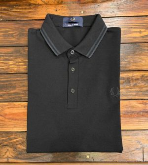 Fred Perry M102 Made in Japan Shirt Black/Black