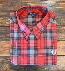 Fred Perry Bold Tartan Shirt.