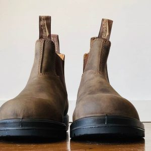 Blundstone 585 Rustic Brown Chelsea Boots