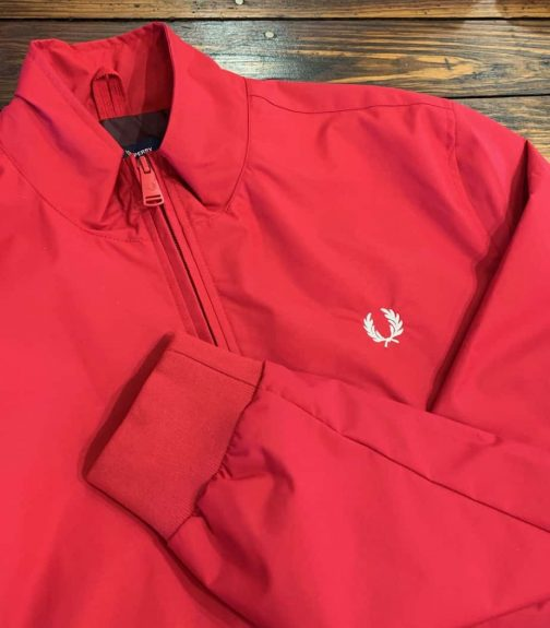 Fred Perry J100 Brentham Sports Jacket in Siren.