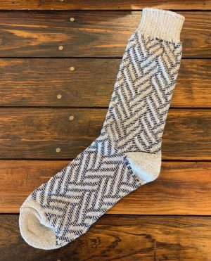American Trench Exploded Herringbone Cotton Socks