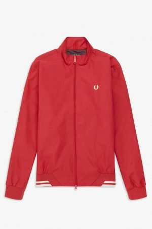 Fred Perry J100 Brentham Sports Jacket in Siren