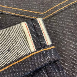 Left Field NYC Atlas Tapered Cone Mills 13 oz. Selvedge Jeans
