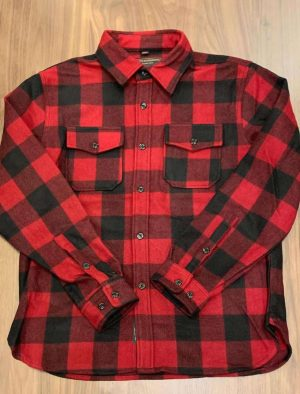 Schott NYC 7910P Buffalo Check CPO Shirt