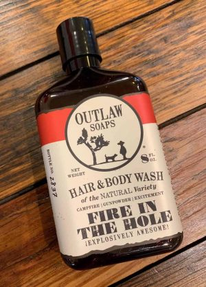 Outlaw Soaps Bodywash Fire in the Hole