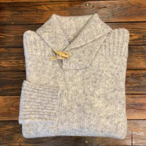 Schott NYC Pullover Shawl Collar Sweater