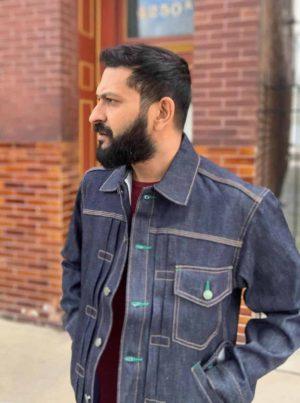 Left Field NYC Muleskinner Selvedge Denim Jacket