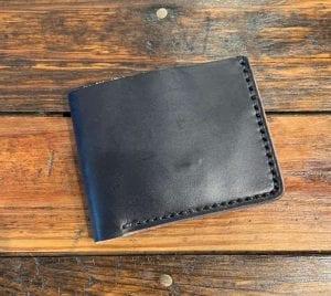 Classic Black Billfold Wallet