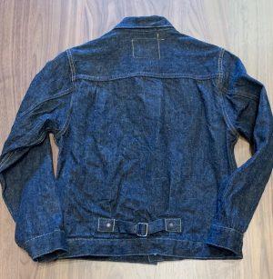 Burgus Plus Lot 71928-XX Natural Indigo Selvedge Denim Jacket
