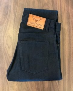 Nama Denim Super Black Selvedge ND121 Slim Tapered