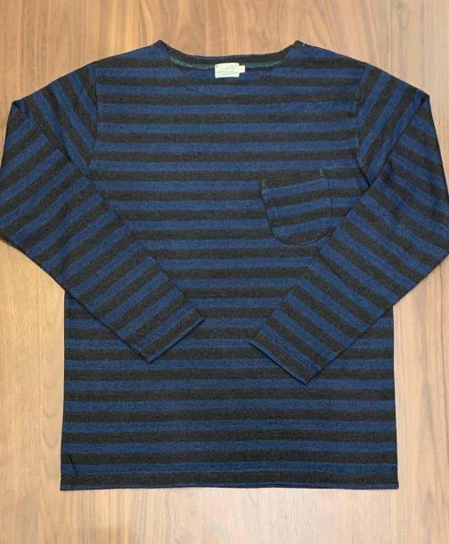 Burgus Plus Heavyweight Basque Striped Long Sleeve