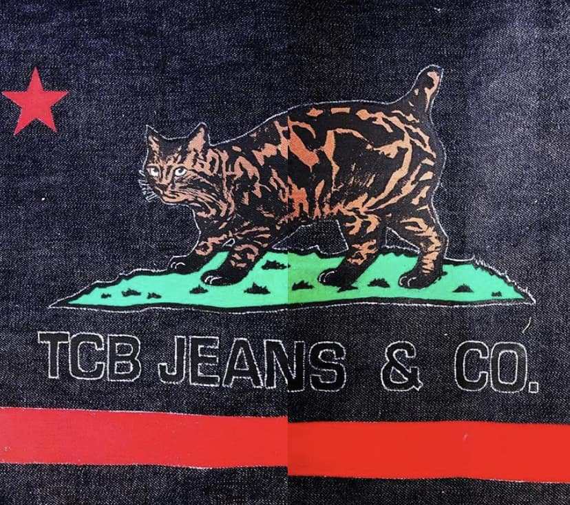TCB jeans logo