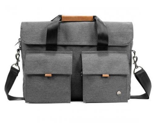 Richmond V2 Messenger Bag PKG Carry Goods. Dark Gray.