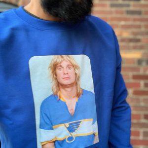 Ozzy Blues Sweatshirt Skim Milk