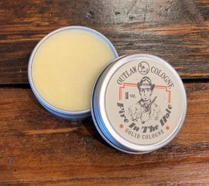Fire In The Hole Solid Cologne Outlaw Soaps
