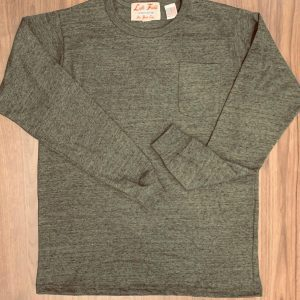 Left Field NYC Vietnam Heather Long Sleeve Pocket Tee