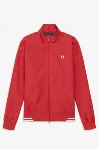 Fred Perry J100 Brentham Sports Jacket. Front view.