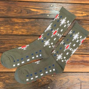 The Ampal Creative Starburst Bamboo Cotton Blend Socks