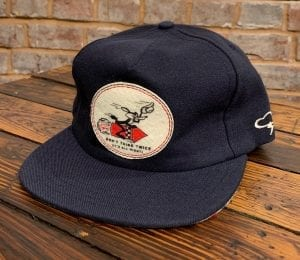 The Ampal Creative Don't Think Twice Wool Strapback Hat