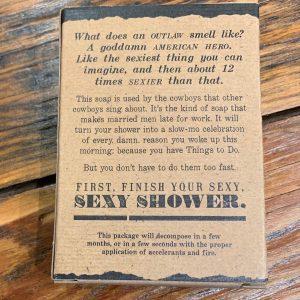 Blazing Saddles Bar Soap Outlaw Soap Co.