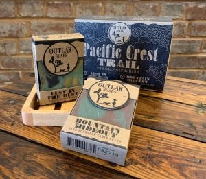 Pacific Crest Trail Soap Set Outlaw Soap Co.
