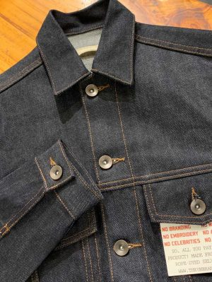Unbranded UB901 14.5 OZ. Indigo selvedge denim jacket