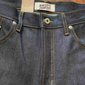Naked And Famous Denim Easy Guy Relaxed Tapered Left Hand Twill Selvedge Jeans