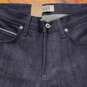 Superguy Indigo Selvedge Naked & Famous Denim