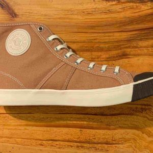 Colchester Rubber Co. National Treasure Deadgrass High Top Sneakers