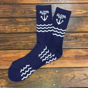 The Ampal Creative Aloha Bamboo Cotton Blend Socks