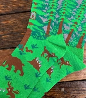 The Ampal Creative Forest Cotton Blend Socks